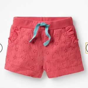Baby Boden Woven Broderie shorts size 12-18